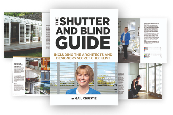 Shutter and brand guide example