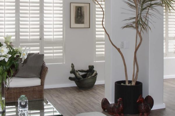 Interior Shutters Living Room
