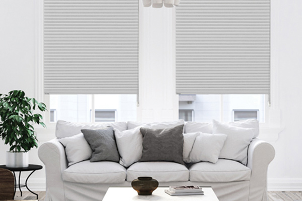 Thermacell blinds in lounge