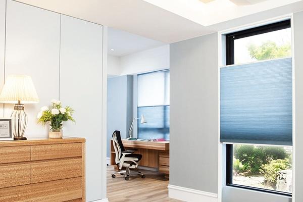 Bedroom sliding blinds